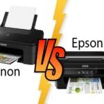 Printer Canon vs Epson