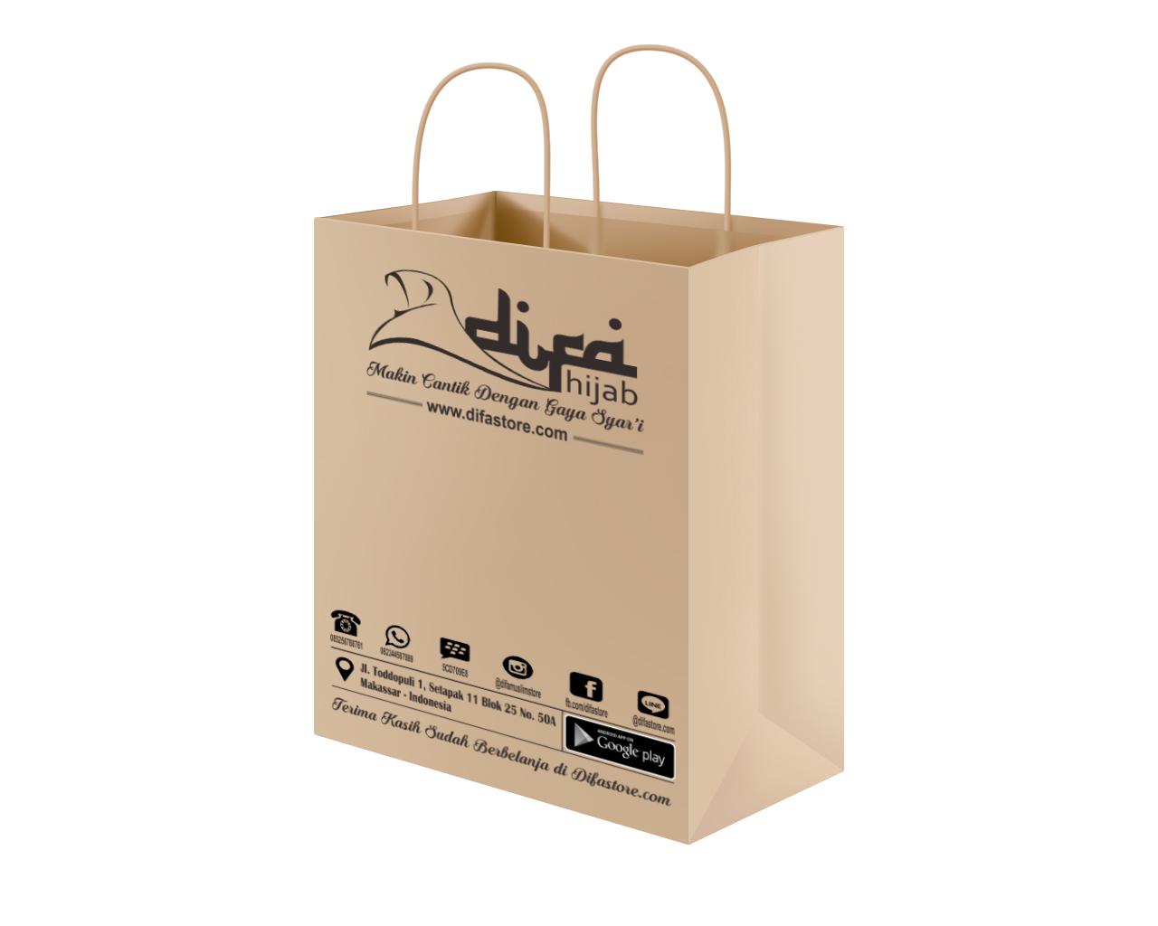 Model Paper Bag Difa